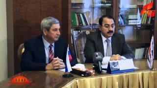 Встреча И.И. Мельникова с послом Сирии