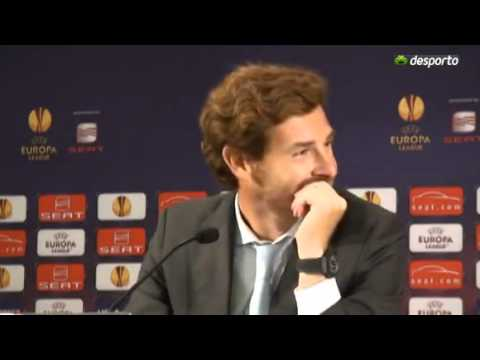 Andre Villas Boas falling for translator