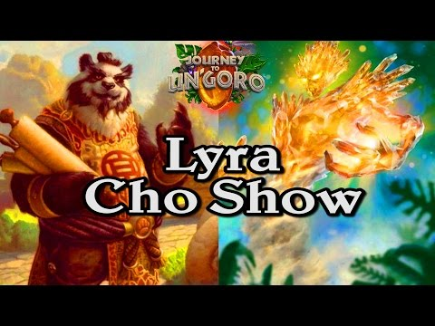 🍀🎲 Lyra Cho Show Journey to Un'Goro ~ Hearthstone Heroes of Warcraft