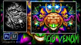 acid venom   parasense   arizona dream   speed art   photoshop   robinarts net