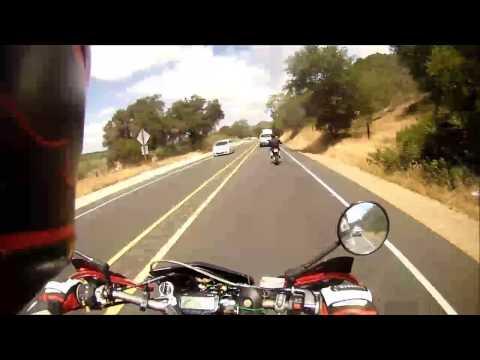 DRZ-400SM Ortega Highway