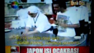 Show TV in Turkey... Teppanyaki Cooking Show