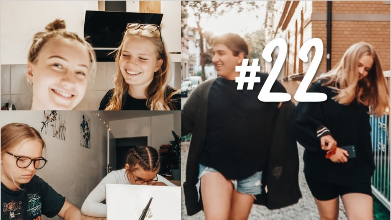 ALLTAGSVLOG #22 | Friends, Podcast & Unisession | Hanna Marie