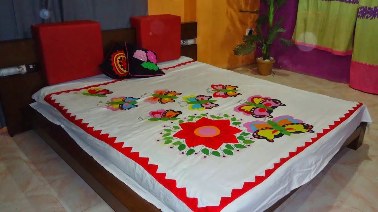 Bed sheet designs pictures - Bed Sheet Designs Pictures 29