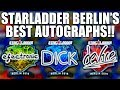 The UNIQUE AUTOGRAPHS of Starladder Berlin Major!! | TDM_Heyzeus