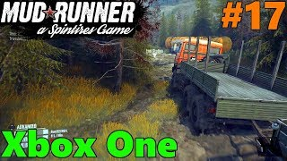 SpinTires Mud Runner: Xbox One Let's Play! Part 17 | FINALLY FUELED UP!! + Exploring!