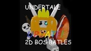 Roblox-Undertale Monster mania-Update fazer mania Undertale:D