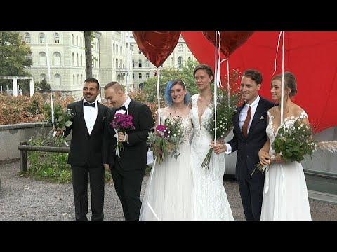 فيديو: الشعب السويسري يصوت بـ-نعم كبيرة- لصالح تشريع زواج المثليين …  - 06:53-2021 / 9 / 27