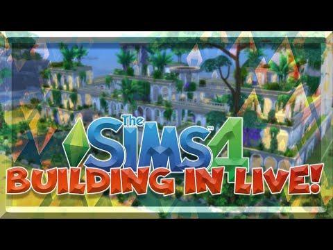 TERMINIAMO I GIARDINI PENSILI DI BABILONIA! THE SIMS 4 BUILDING IN LIVE! thumbnail