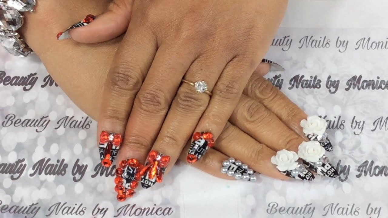 New Nails Tutorial (Link Is In The Description Below) - YouTube