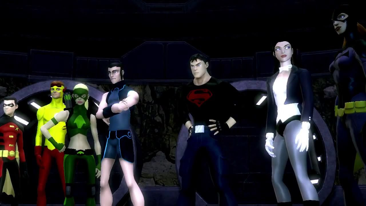 Young Justice: Legacy - Gameplay Trailer HD [X360   PS3 ... Young Justice Legacy Cover