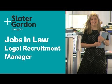 Jobs in Law - Legal Recruitment Manager | Slater and Gordon