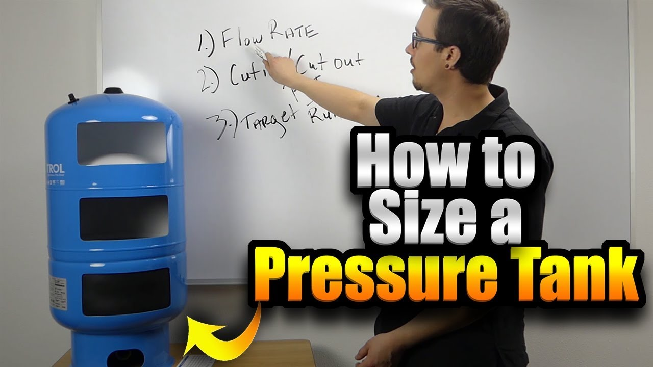 How to Size a Pressure Tank