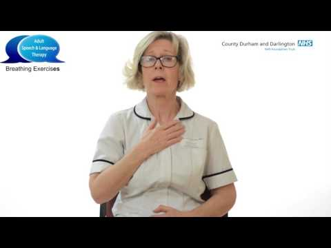 Adult Speech and Therapy -   Breathing Exercises