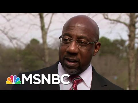 Warnock Outlines What's At Stake In Republican War On Democracy   Rachel Maddow   MSNBC