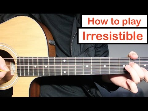 One Direction - Irresistible | Guitar Lesson (Tutorial) How to play Chords