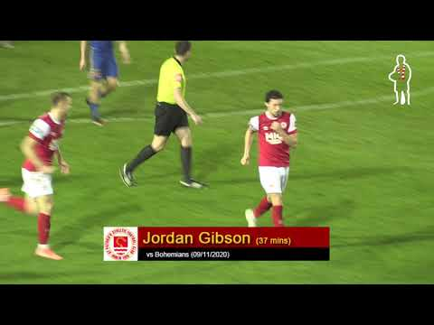 Goal: Jordan Gibson (vs Bohemians 09/11/2020)