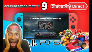 Playstation Remote Play Switch | Mario Kart 9 Switch 2020 | Wonderful 101 Switch | PS5 Meeting Soon!