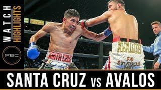 Santa Cruz vs Avalos HIGHLIGHTS: October 14, 2017 - PBC on FOX