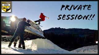 EPIC SUNSET SESSION w/ the NEVER SUMMER TEAM (WOODWARD at TAHOE)