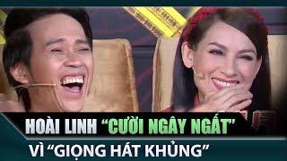 Hoài Linh cười ngất với giọng hát 'kinh khủng' của Dương Thanh Vàng