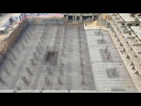 raft foundation reinforcement detail