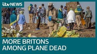At least nine British nationals among 157 killed in Ethiopia crash | ITV News