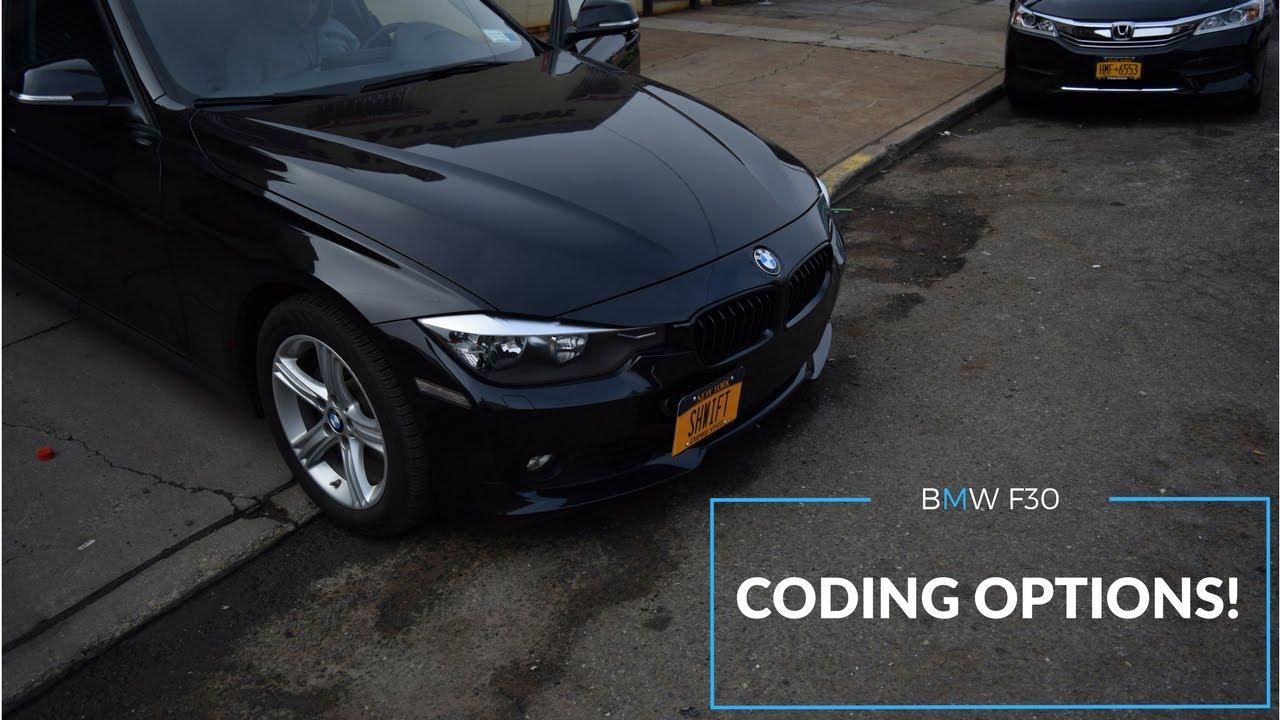 BMW F30 CODING POSSIBILITIES!