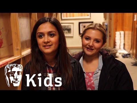 Dumping Ground set tour with Carmen and Tee  BAFTA Kids