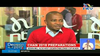 Kenya's CHAN 2018 preparations on a tight schedule