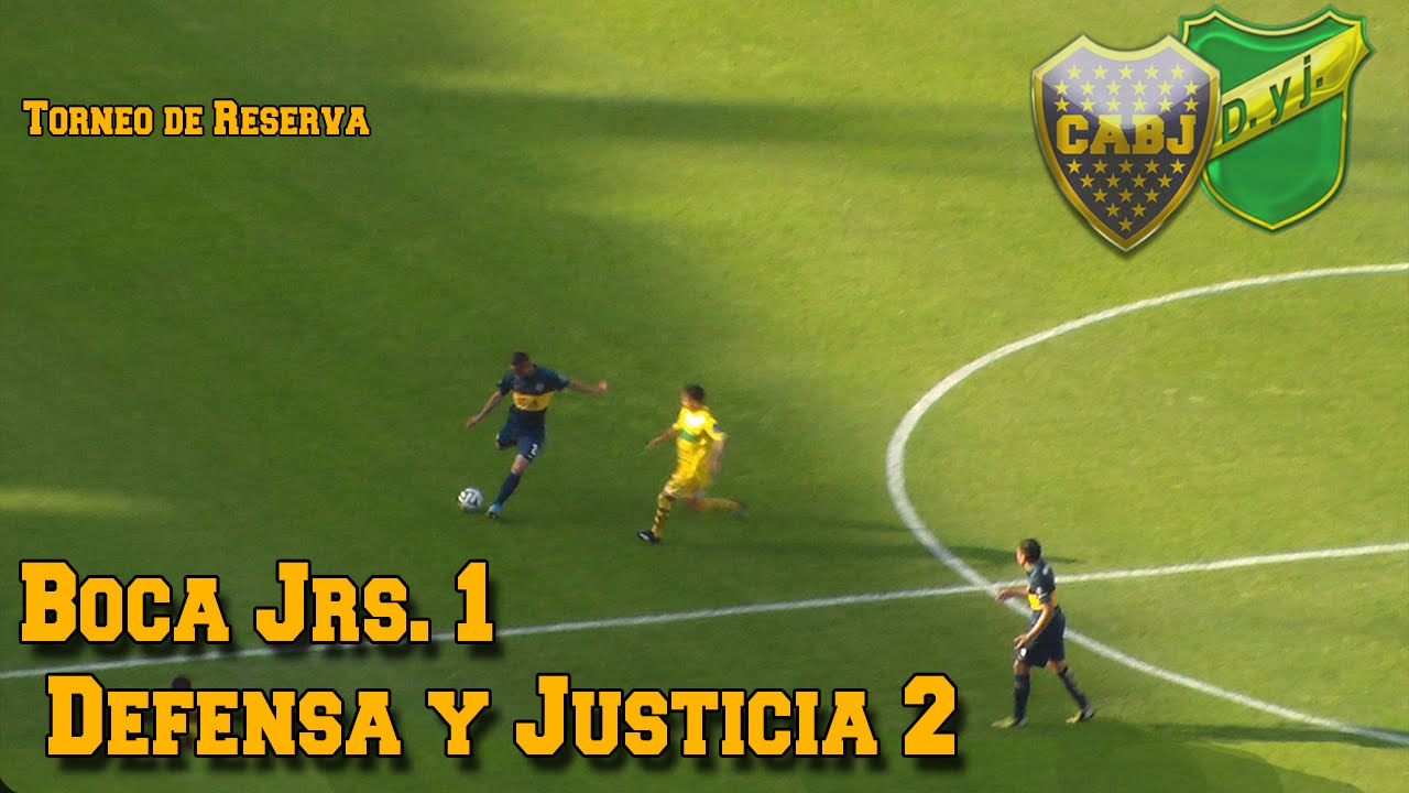 Reserva Boca 1 2 Defensa Y Justicia Youtube