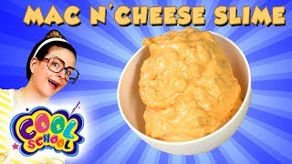 Mac and Cheese Slime DIY! How to DIY Crunchy Slime Recipe! | Arts and Crafts with Crafty Carol
