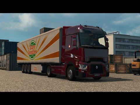 ETS 2 - Vive la France - Renault T Range 520 - Trip: Dijon - Paris