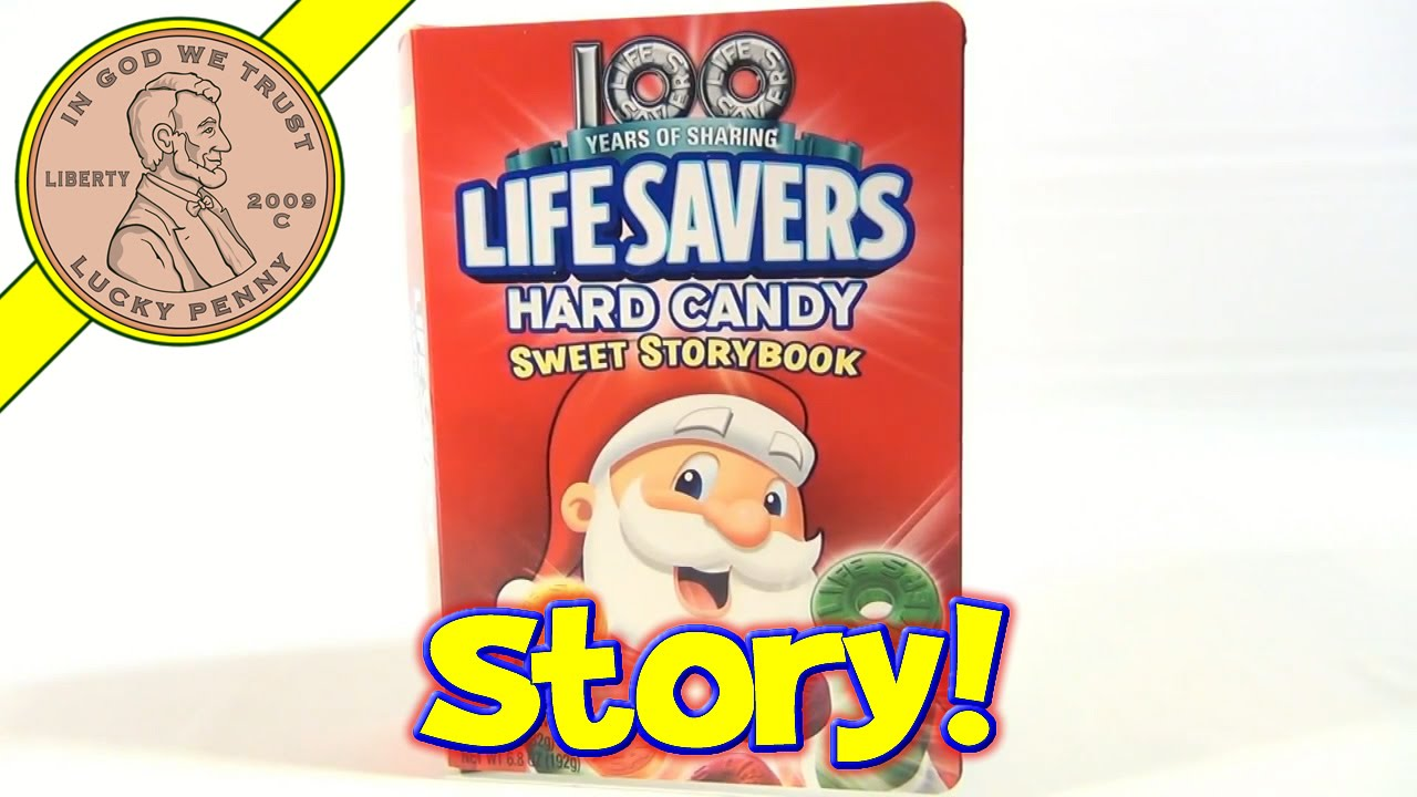 100 years of sharing life savers hard candy sweet story book