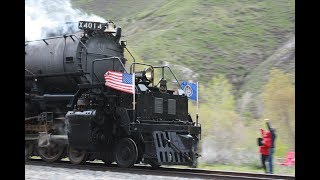 2019 Union Pacific Big Boy 4014 The Great Race to Ogden Fifth Day Compilation