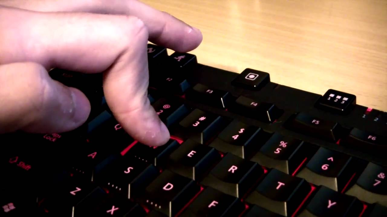 246be95a832 Review: Microsoft Sidewinder X6 Keyboard - YouTube