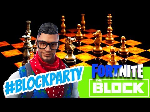 BLOCKPARTY - Chess Set Station - THE BLOCK - | Fortnite