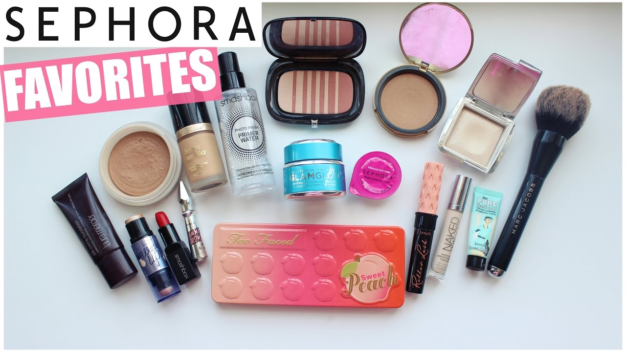 My Top 20 High End Beauty Products/What To Buy At Sephora! - YouTube