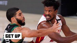 Heat vs. Celtics Game 6 reaction & Kendrick Perkins looks ahead to the NBA Finals   Get Up
