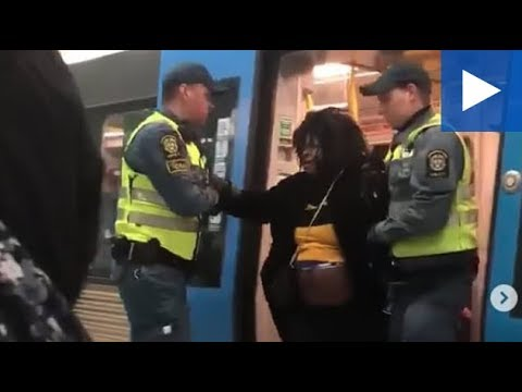Pregnant Black Woman 'Without Ticket' Dragged Off Train By Guards