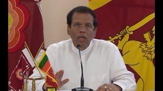 西里塞纳誓言彻底终止伊斯兰国组织在斯里兰卡境内的一切活动