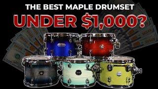 What Is The Best Maple Drum Set Under $1000?