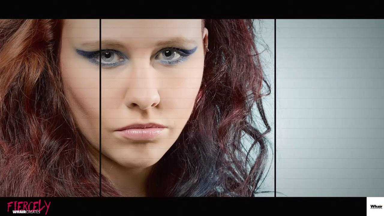 Whair Kappers Haarmode Lijn 2017 Whair Creates Fiercely Dani