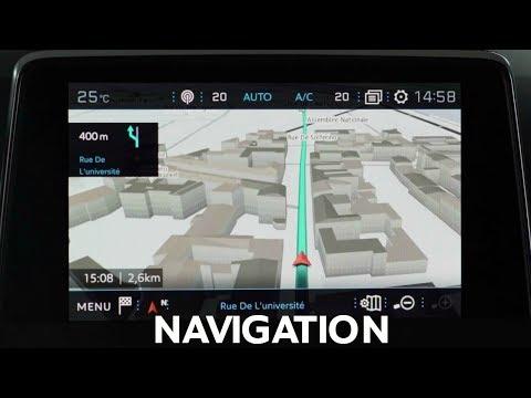 Navigation 3D | SUV PEUGEOT 3008