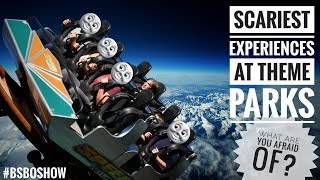 Scariest Experiences at Theme Parks!