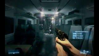 Battlefield 3 Opening Train Scene Gameplay