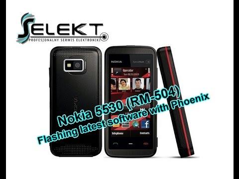 Flash Nokia 5530 (RM-504) Latest Software with Phoenix / Wgrywanie oprogramowania | Selekt