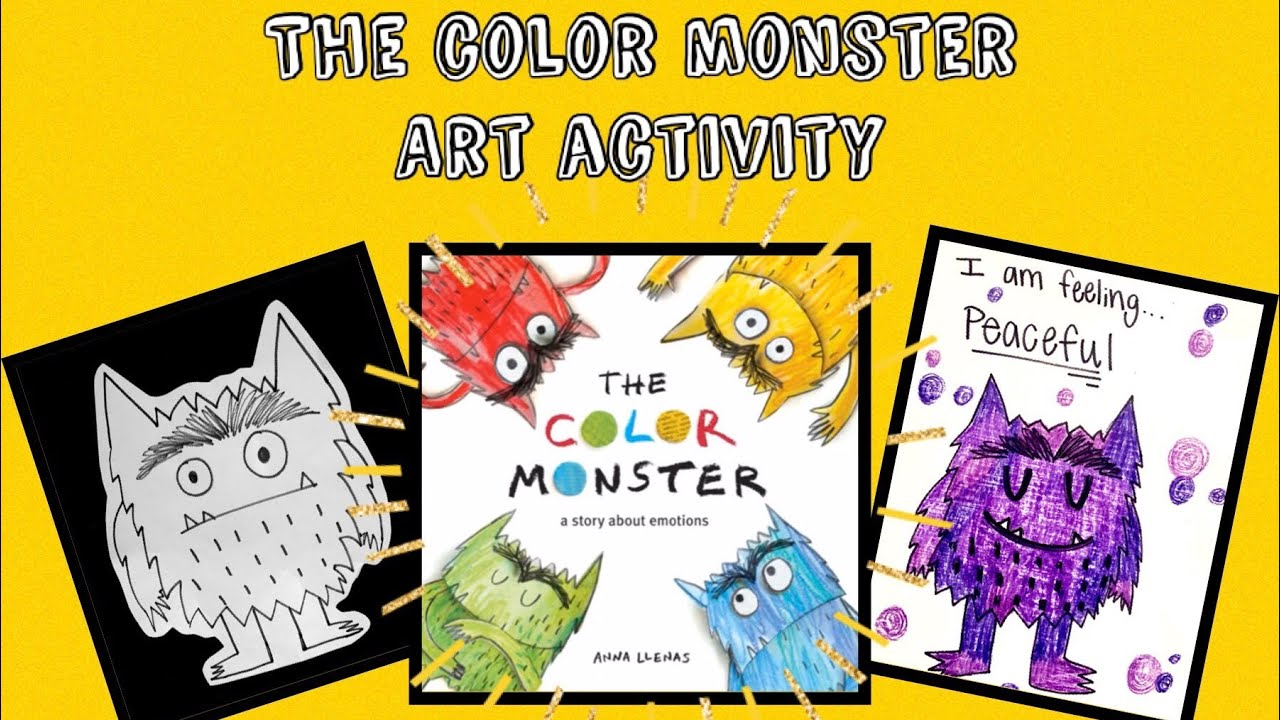 The Color Monster Art Activity Youtube