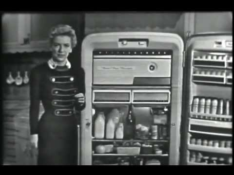 Westinghouse 1955 Refrigerator Commercial Youtube