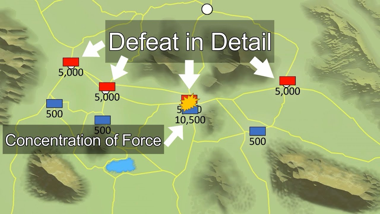 Download Defeat in Detail: A Strategy to Defeating Larger Armies